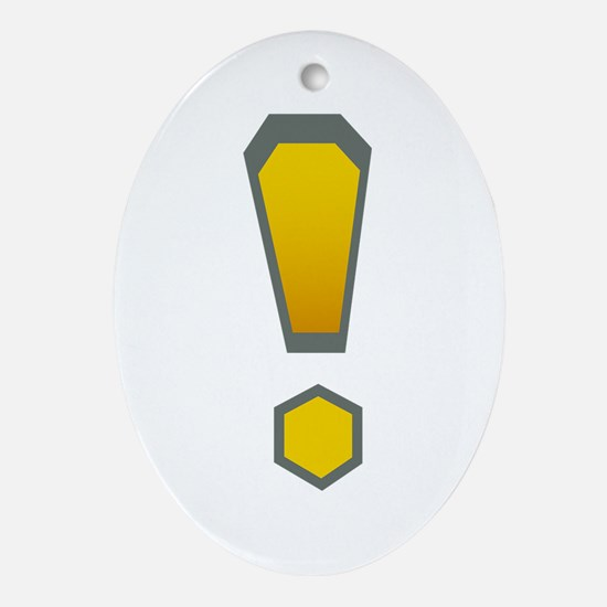 WoW Ornament (Oval)