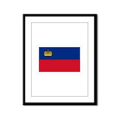 Liechtenstein Framed Panel Print