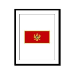 Montenegro Framed Panel Print
