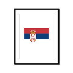 Serbia Framed Panel Print