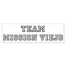 Team Mission Viejo Bumper Bumper Sticker