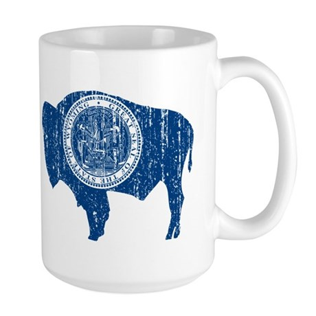 Vintage Wyoming Large Mug