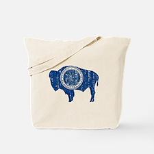 Vintage Wyoming Tote Bag