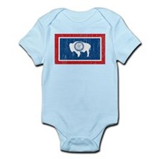 Vintage Wyoming Infant Bodysuit