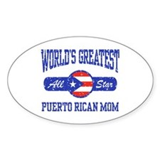 Puerto Rican Mom Decal