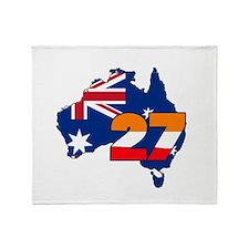 CSREP27Aust Throw Blanket