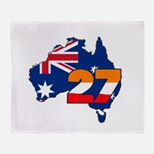 CSREP27Aust Throw Blanket