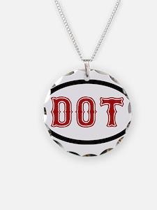 Dorchester Hood Design Necklace
