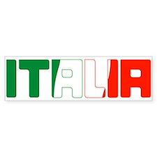 ITALIA Bumper Bumper Sticker