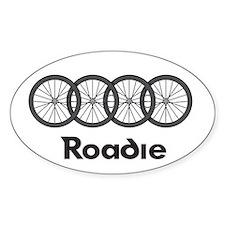 Roadie Cycling - Black Decal