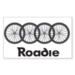 Roadie Cycling - Black Sticker