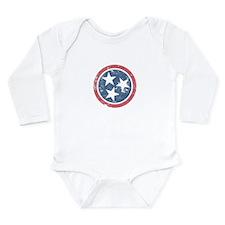 Vintage Tennessee Long Sleeve Infant Bodysuit