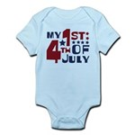 My 1st 4th of July Infant Bodysuit