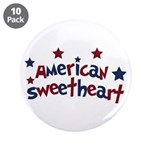 "American Sweetheart 3.5"" Button (10 pack)"