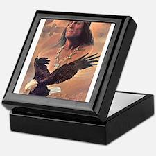 Unique Native american Keepsake Box
