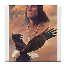 Unique American eagle Tile Coaster