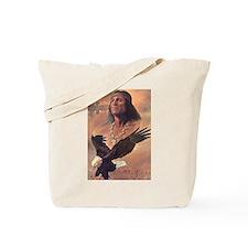 Cute American eagle Tote Bag
