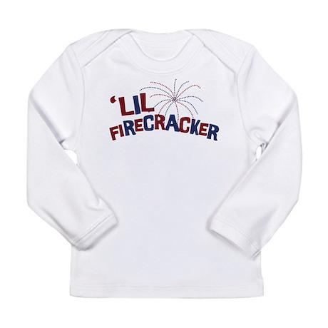 'Lil Firecracker Long Sleeve Infant T-Shirt