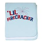 'Lil Firecracker baby blanket