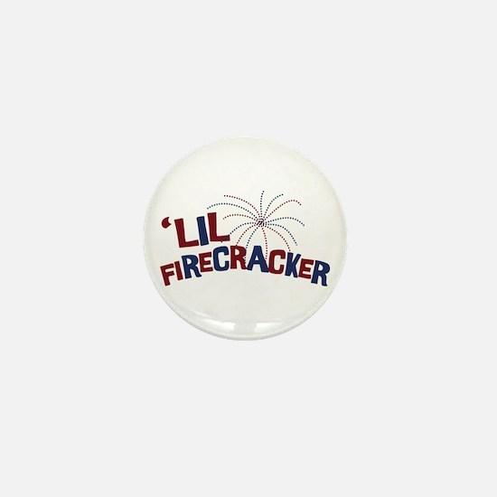 'Lil Firecracker Mini Button