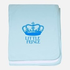 little prince (blue) baby blanket