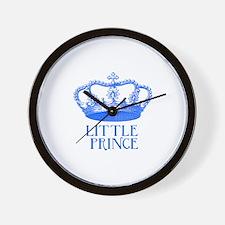 little prince (blue) Wall Clock