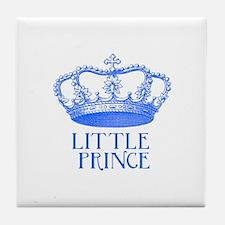 little prince (blue) Tile Coaster
