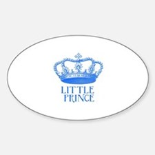 little prince (blue) Decal