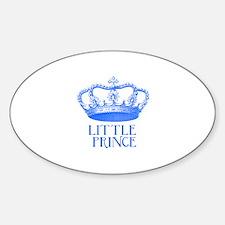 little prince (blue) Sticker (Oval)