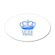 little prince (blue) 22x14 Oval Wall Peel