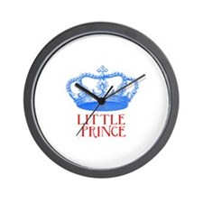 little prince (blue/red) Wall Clock