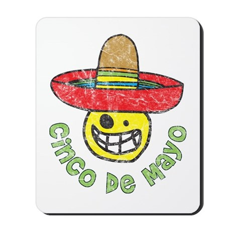 Cinco de Mayo Mexican Mousepad