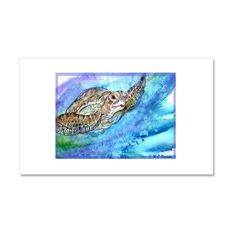 Sea Turtle, nature, art, Car Magnet 12 x 20