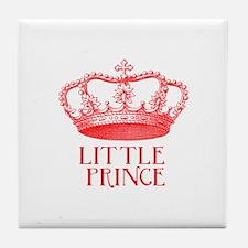 little prince (red) Tile Coaster