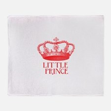 little prince (red) Throw Blanket