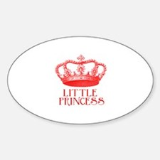 little princess (red) Decal