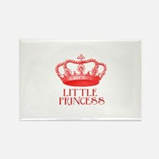 little princess (red) Rectangle Magnet
