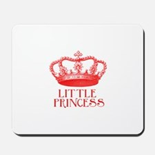 little princess (red) Mousepad