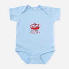 little princess (red) Infant Bodysuit