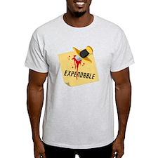 Stabbed Red Shirt T-Shirt