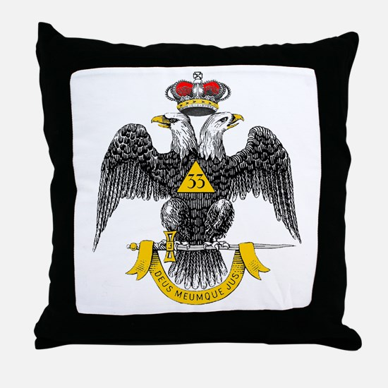 33rd Degree Throw Pillow