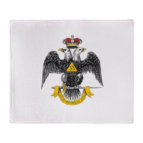 33rd Degree Throw Blanket