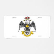 33rd Degree Aluminum License Plate