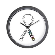 Blessed life Wall Clock