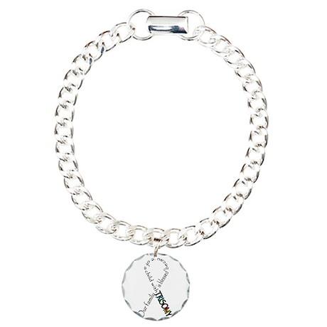 Blessed life Charm Bracelet, One Charm