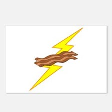 Bacon Storm Postcards (Package of 8)