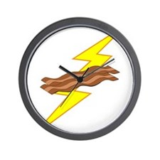 Bacon Storm Wall Clock