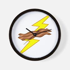 Bacon Storm Wall Clock