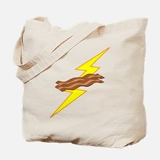 Bacon Storm Tote Bag