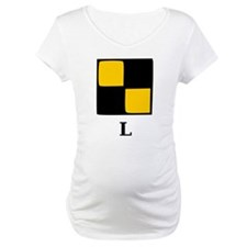 Nautical Letter L Shirt